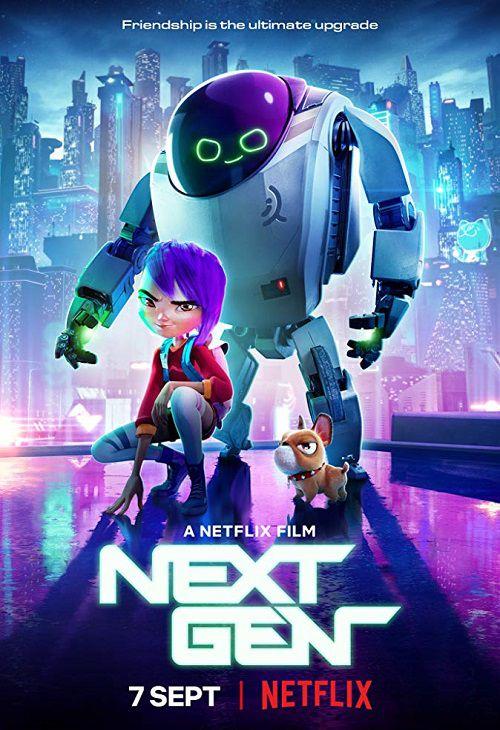 دانلود دوبله فارسی انیمیشن نسل بعدی Next Gen 2018