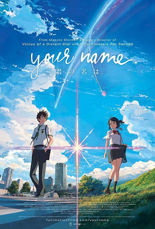 دانلود دوبله فارسی انیمیشن اسم تو Your Name 2016