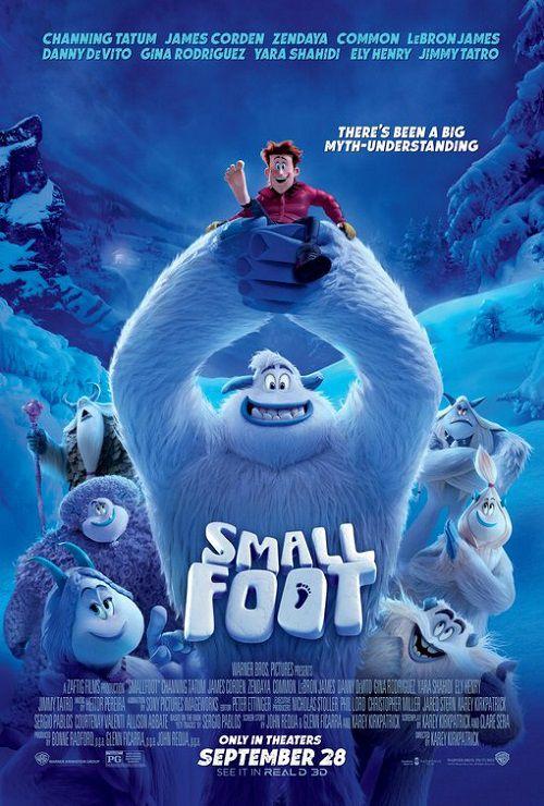 دانلود انیمیشن پاکوتاه Smallfoot 2018 دوبله فارسی