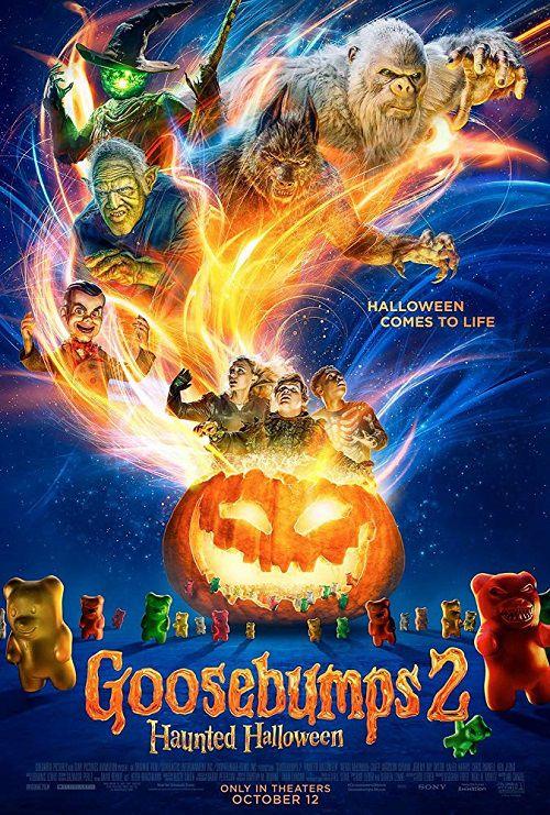 دانلود فیلم مور مور 2: هالووین جن زده Goosebumps 2: Haunted Halloween 2018