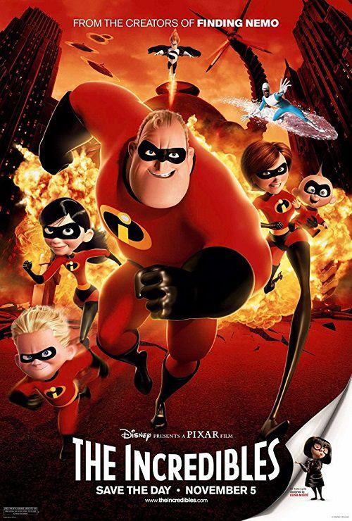 دانلود دوبله فارسی انیمیشن شگفت انگیزان The Incredibles 2004