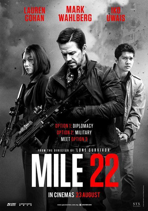 دانلود فیلم مایل 22 Mile 22 2018