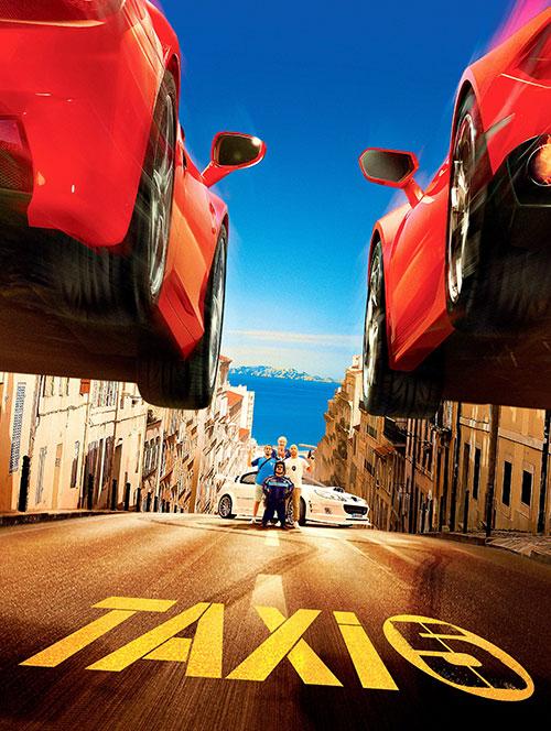 دانلود فیلم تاکسی 5 با دوبله فارسی Taxi 5 2018