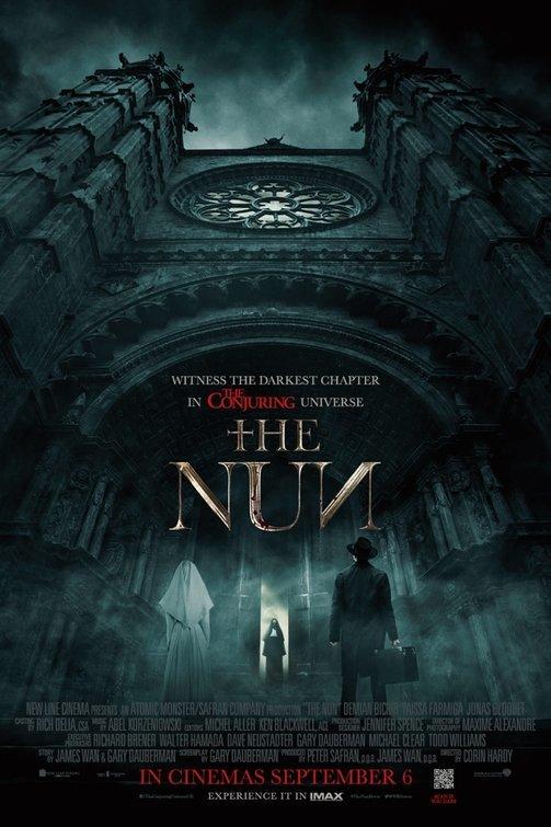 دانلود فیلم راهبه The Nun 2018 دوبله فارسی و کیفیت عالی