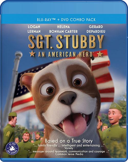 دانلود انیمیشن گروهبان استابی: قهرمان آمریکایی Sgt. Stubby: An American Hero 2018
