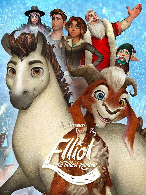 دانلود دوبله فارسی انیمیشن الیوت کوچکترین گوزن شمالی Elliot the Littlest Reindeer 2018