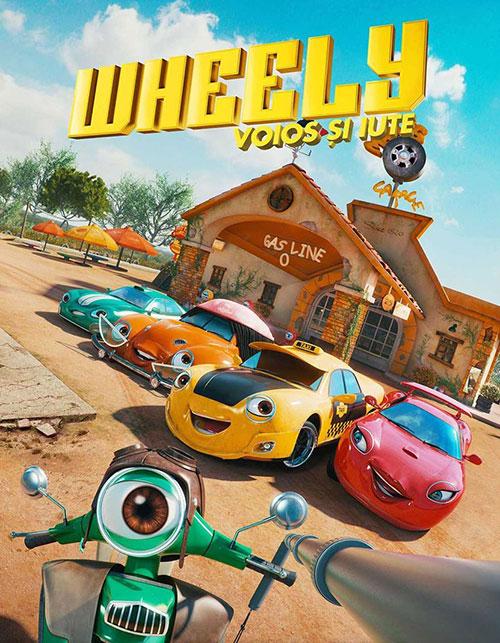 دانلود دوبله فارسی انیمیشن ویلی: سریع و شاد Wheely: Fast & Hilarious 2018