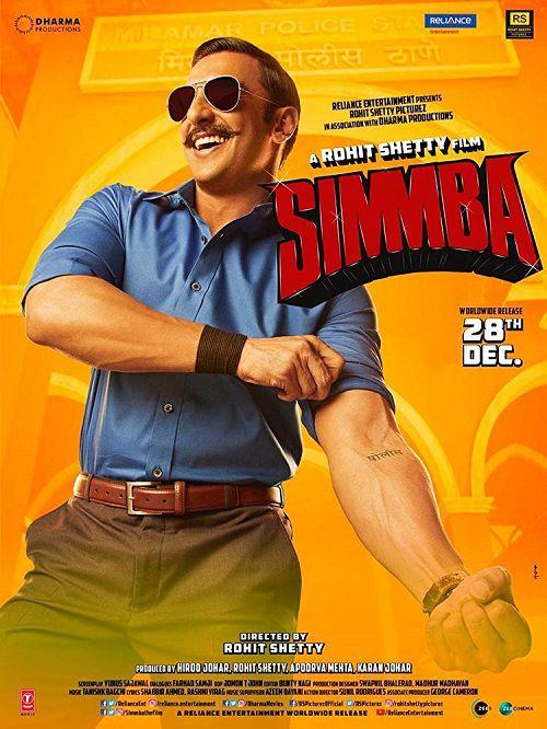 دانلود فیلم سیمبا Simmba 2018 دوبله فارسی
