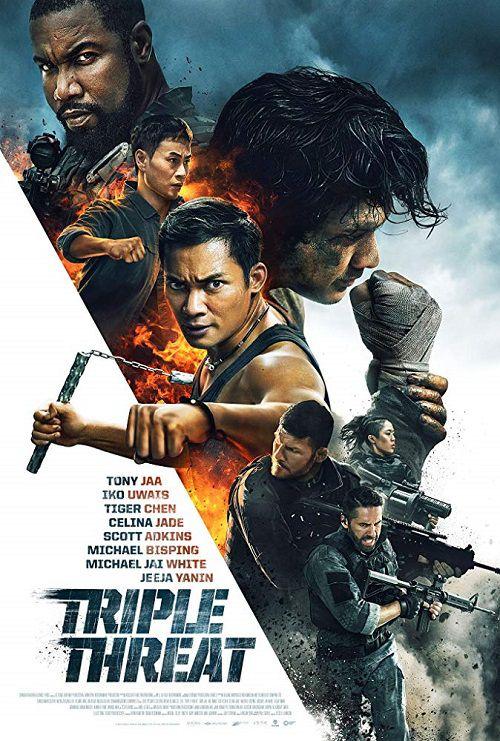 دانلود دوبله فارسی فیلم تهدید سه گانه Triple Threat 2019