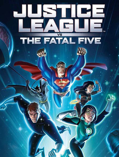 دانلود دوبله فارسی انیمیشن لیگ عدالت علیه پنج ویرانگر Justice League vs the Fatal Five 2019