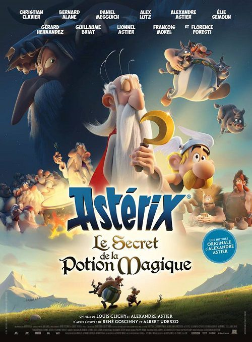 دانلود انیمیشن Asterix: The Secret of the Magic Potion 2018