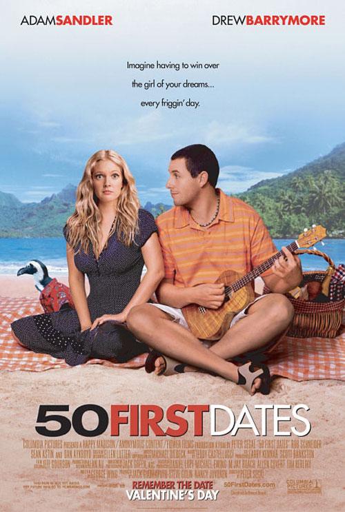 دانلود فیلم 50 قرار اول 50 First Dates 2004