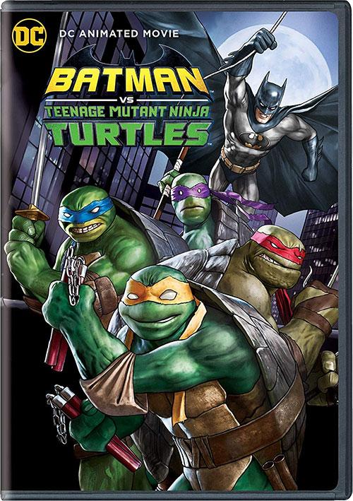 دانلود دوبله فارسی انیمیشن بتمن و لاک پشتهای نینجا Batman vs. Teenage Mutant Ninja Turtles 2019