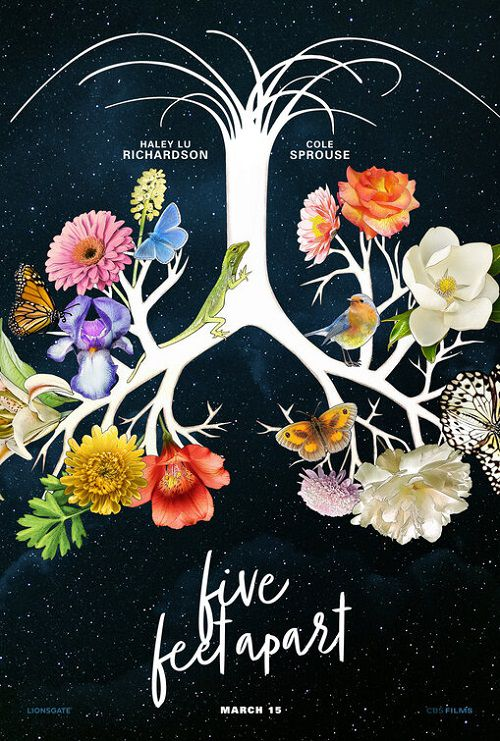 دانلود فیلم Five Feet Apart 2019 پنج فوت جدا از هم