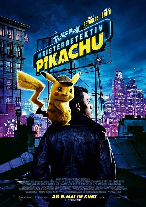 دانلود دوبله فارسی فیلم پوکمون کارآگاه پیکاچو Pokemon Detective Pikachu 2019