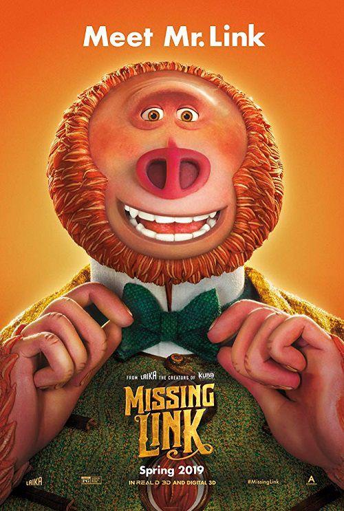 دانلود دوبله فارسی انیمیشن لینک گمشده Missing Link 2019