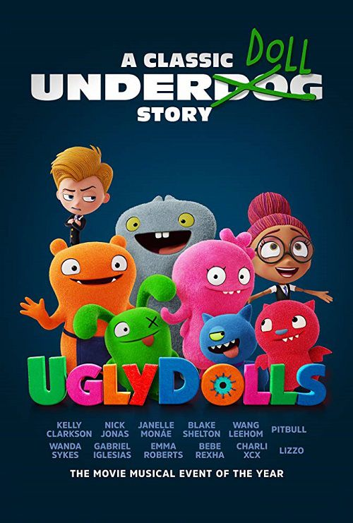 دانلود دوبله فارسی انیمیشن عروسک های زشت UglyDolls 2019