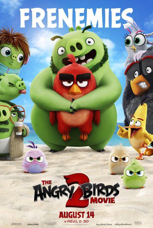 دانلود دوبله فارسی انیمیشن پرندگان خشمگین 2 The Angry Birds Movie 2 2019