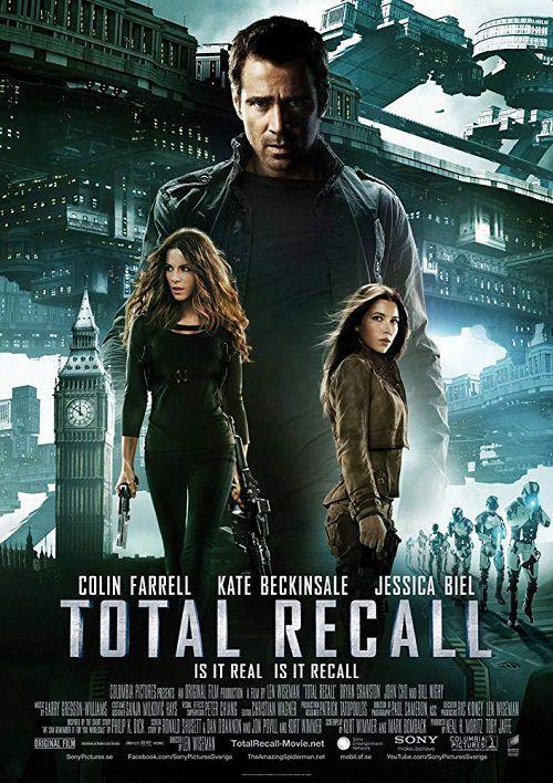 دانلود فیلم یادآوری کامل Total Recall 2012