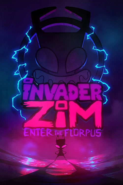 دانلود دوبله فارسی انیمیشن مهاجم زیم: ورود به فلورپوس Invader ZIM: Enter the Florpus 2019
