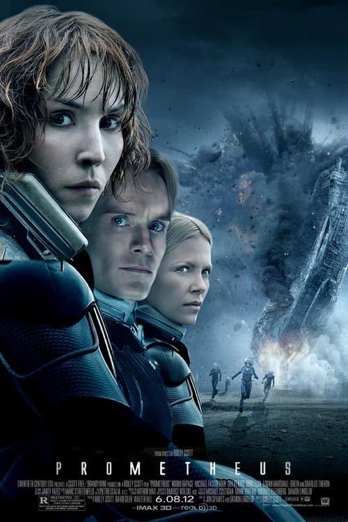 دانلود فیلم پرومتئوس Prometheus 2012