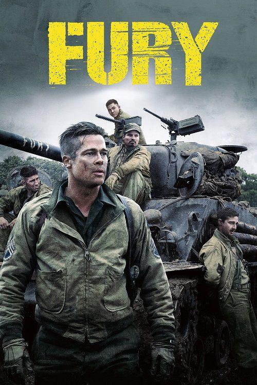 دانلود دوبله فارسی فیلم خشم Fury 2014