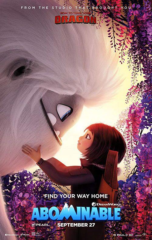 دانلود دوبله فارسی انیمیشن نفرت انگیز Abominable 2019