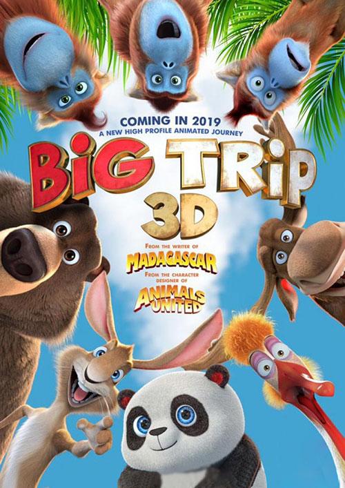 دانلود دوبله فارسی انیمیشن سفر بزرگ The Big Trip 2019