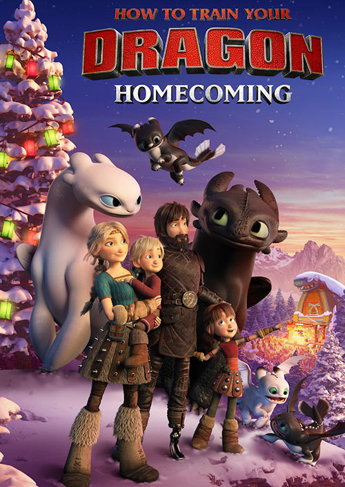 دانلود انیمیشن مربی اژدها بازگشت به خانه How to Train Your Dragon Homecoming 2019