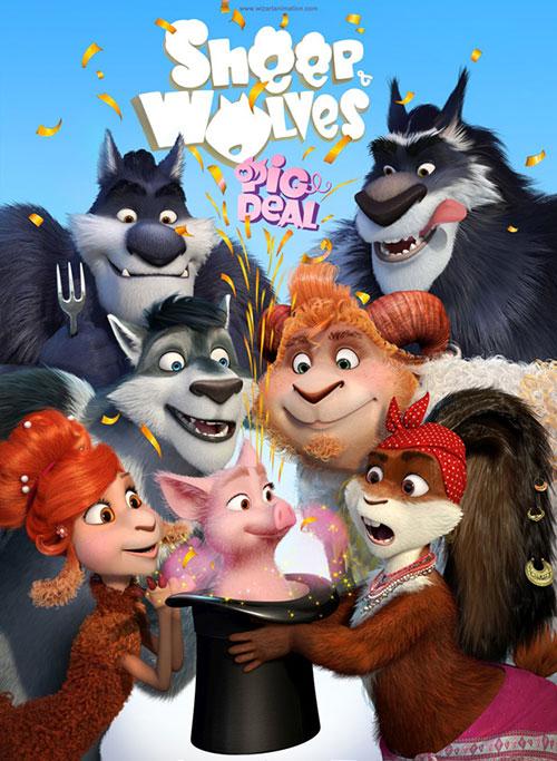 دانلود دوبله فارسی انیمیشن گوسفندها و گرگ ها Sheep and Wolves: Pig Deal 2019