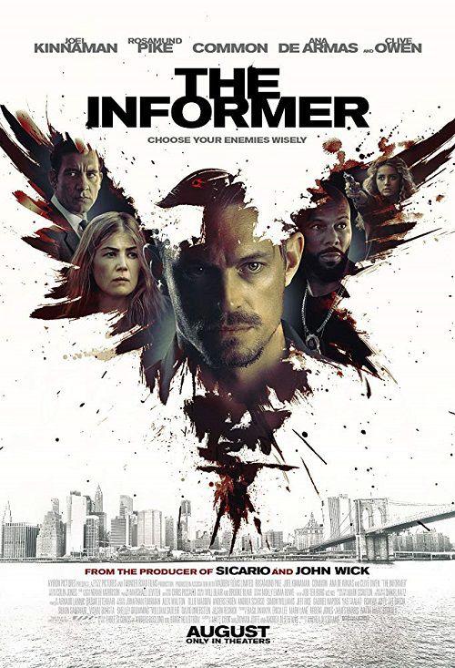 دانلود فیلم The Informer 2019 خبرچین