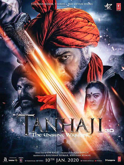 دانلود فیلم Tanhaji: The Unsung Warrior 2020