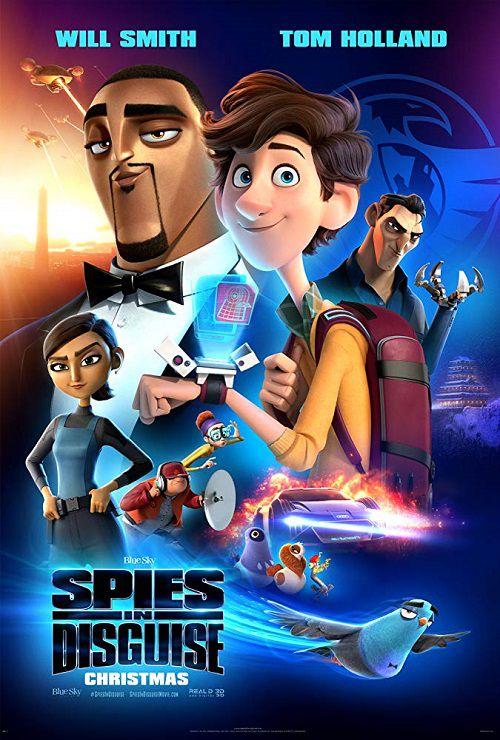 دانلود دوبله فارسی انیمیشن جاسوسان نامحسوس Spies in Disguise 2019