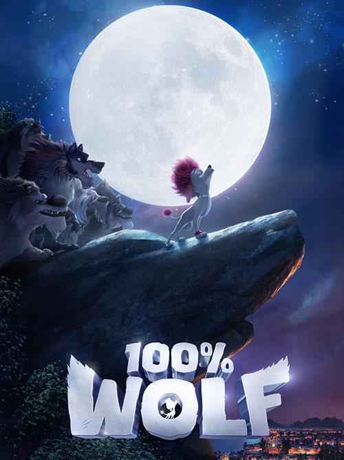 دانلود دوبله فارسی انیمیشن 100 درصد گرگ 100 Percent Wolf 2020