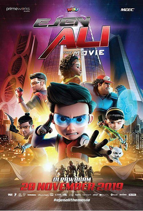 دانلود انیمیشن مامور علی با دوبله فارسی Ejen Ali: The Movie 2019