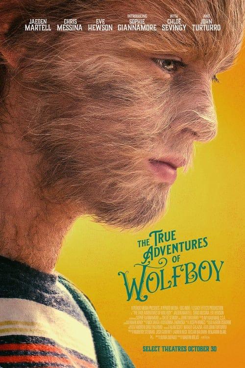 دانلود فیلم ماجراهای واقعی پسر گرگی با دوبله فارسی The True Adventures of Wolfboy 2019