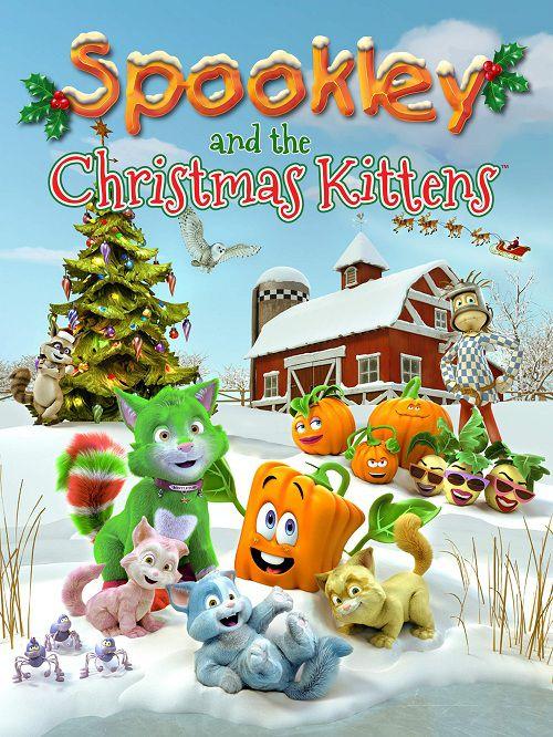 دانلود انیمیشن اسپوکلی و بچه گربه های کریسمس با دوبله فارسی Spookley and the Christmas Kittens 2019