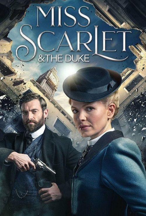 دانلود فصل اول سریال خانم اسکارلت و دوک Miss Scarlet and the Duke