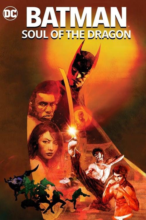 دانلود انیمیشن بتمن: روح اژدها دوبله فارسی Batman: Soul of the Dragon 2021