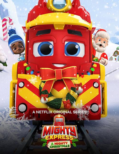 دانلود انیمیشن قطار تندرو: کریسمس شگفت انگیز دوبله فارسی Mighty Express: A Mighty Christmas 2020