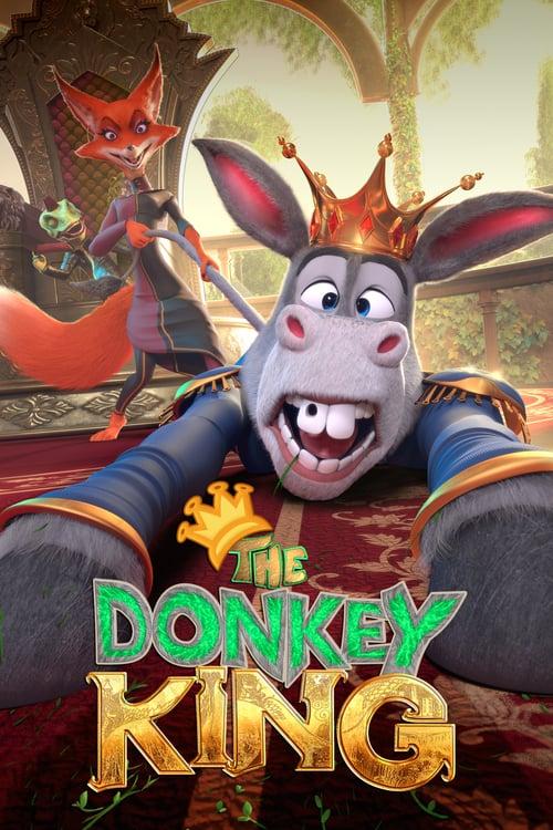 دانلود انیمیشن الاغ شاه دوبله فارسی The Donkey King 2020