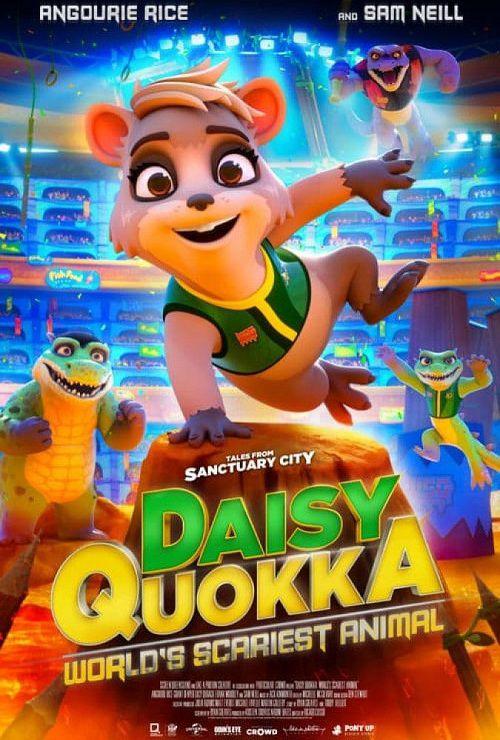دانلود انیمیشن دیزی کوئوکا: ترسناک ترین حیوان جهان دوبله فارسی Daisy Quokka: World's Scariest Animal 2020