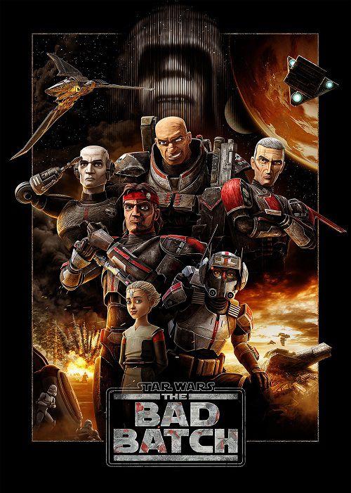 دانلود انیمیشن جنگ ستاریگان: گروه بد Star Wars: The Bad Batch