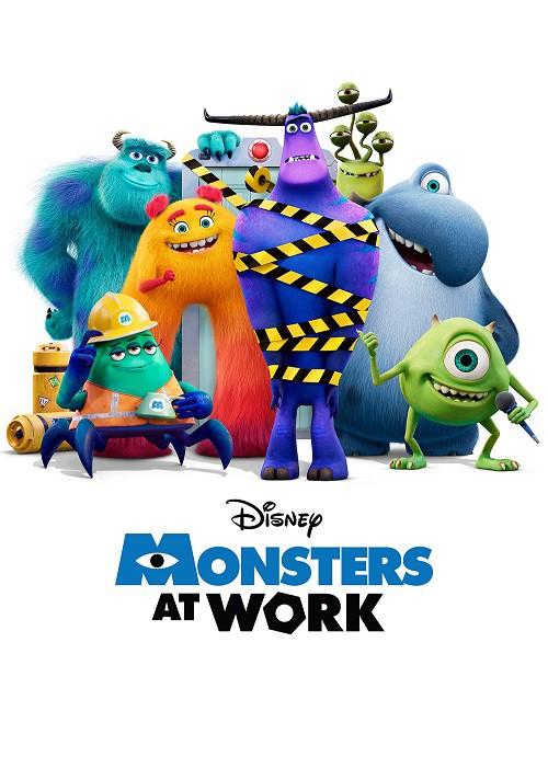 دانلود انیمیشن Monsters at Work 2021 هیولاها در محل کار
