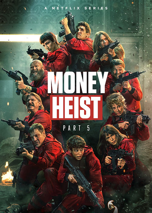 دانلود فصل پنجم سریال خانه کاغذی Money Heist