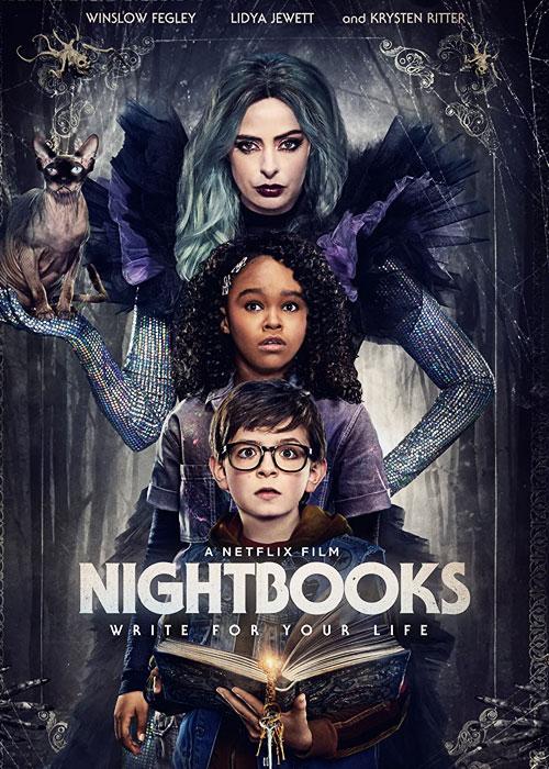 دانلود فیلم Nightbooks 2021 کتاب های شبانه